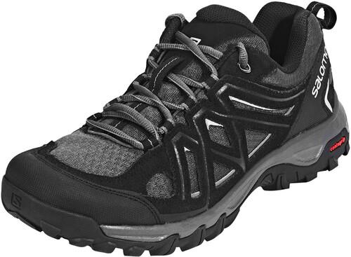 Randonnée Columbia / Chaussures D'alpinisme Pour Les Hommes - Noir (noir, Jaune Électronique 010) Taille 46